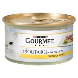Gourmet Solitaire Mini Filets mit Huhn in Sauce 85 g - Mini-filets