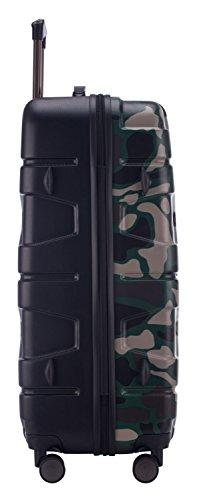 HAUPTSTADTKOFFER - X-Kölln - Hartschalen-Koffer Koffer Trolley Rollkoffer Reisekoffer, TSA, 76 cm, 120 Liter, Camouflage matt - 4
