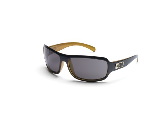 Von Sonnenbrille Optics Smith Für Damen (Smith Optics Super Methode Sonnenbrille, damen, schwarz / goldfarben)