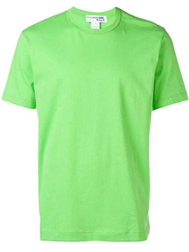 Comme des Garçons Shirt Herren S279083 Grün Baumwolle T-Shirt -