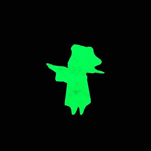 Moppi Zombie luminoso scatto fisso adesivi bici mtb