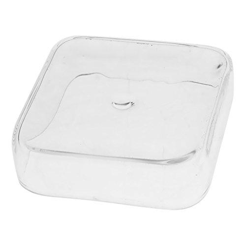 F Fityle Plato de Alimentación Comedero Dispensador de Comida de Camarones para Tanque de Peces - Cuadrado