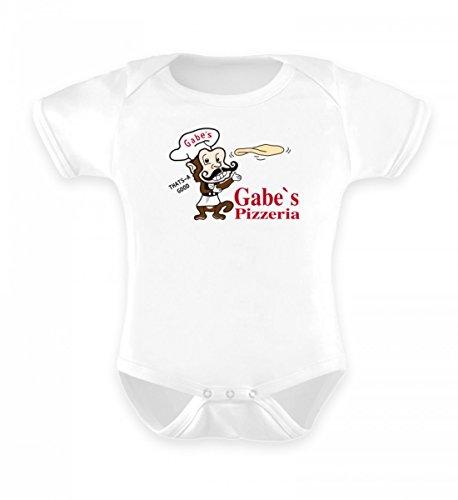 Cool Tv Stehen (Hochwertiges Baby Body - Gabe`s Pizzeria | Limoneneis Edition | TV Fernsehen T-Shirt Pullover Hoodie Tasse Sweater)