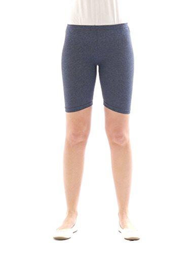 Pantaloncini sportivi per bambini, da ciclista, leggings corti, in cotone, per ragazzi e ragazze jeans 116 cm