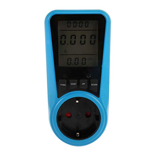 Vkospy PM005 Digital-Wattmeter Power Analyzer Electronic Power Energy Meter LCD Haushalt Mess Elektrizität Usage Monitor -