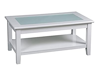 Albany Wooden Coffee Table/side Table-white - cheap UK light store.