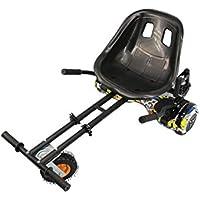 Airel Hoverkart | Hoverkart Metal | Kart Hoverboard Universel | Hoverboard Kart Tout Terrain | Mesures: 52x42x21 cm
