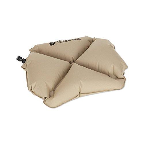 Klymit Aufblasbare Outdoor Campingmatte Luftmatratze Kissen X aufblasbare Camp & Reisekissen, Herren, Recon Coyote Sand (Pillow Stuff Sack)