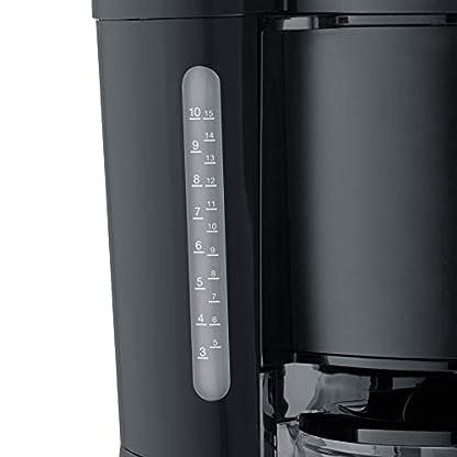 SEVERIN-KA-9554-Kaffeeautomat-Type-1000-Edelstahl-125-liters-schwarz-matt