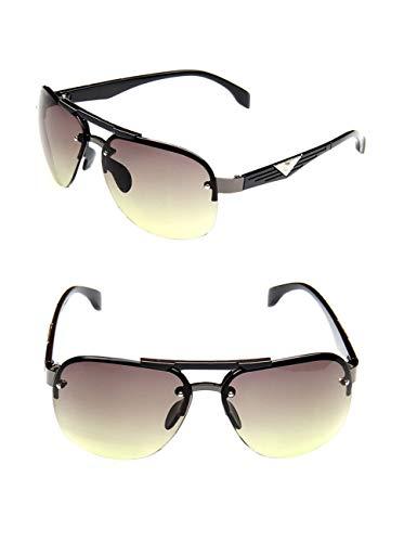 DPDH Sonnenbrillen Klassischer Weinlese-Sonnenbrille-Mann, Der Großen Rahmen-Sonnenbrille-Frauen-Designer FährtGreen