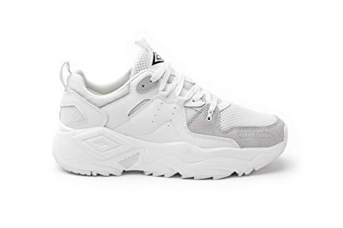 Umbro Run M, Scarpe da Fitness Uomo, Bianco White H96, 43 EU