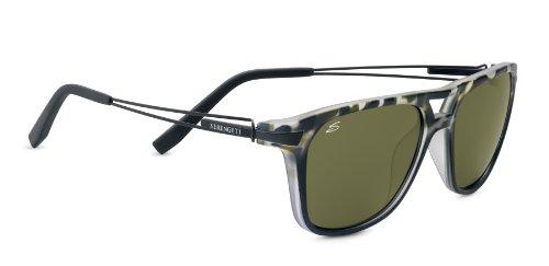 Serengeti eyewear lunettes de soleil empoli M Multicolore - Satin Black  Tortoise Satin Black Temples d08934c84952