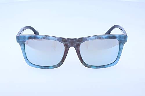 Diesel sonnenbrille dl0120 52b-55-18-145 occhiali da sole, multicolore (mehrfarbig), 55.0 unisex-adulto