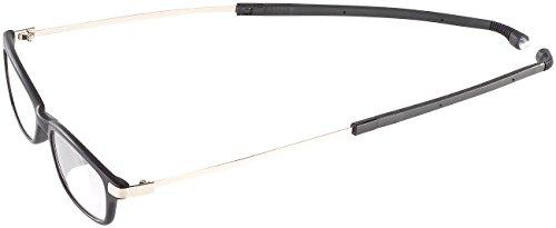 infactory Lesebrille zum Umhängen: Umhänge-Lesehilfe m. ausziehbaren Bügeln & Magnet-Verschluss, +1,5 dpt (Halsbügel-Brille) (Brillen Bügel Für)