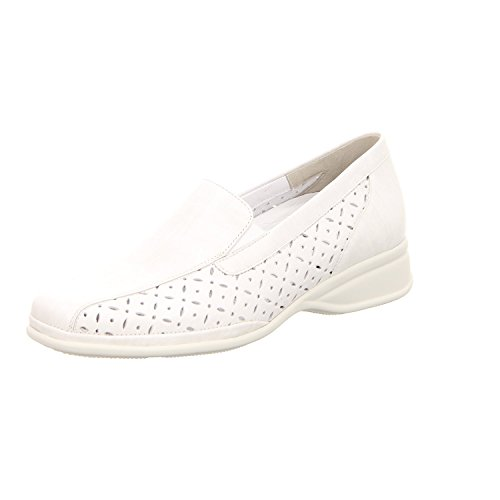 Semler Damen Slipper Weiß