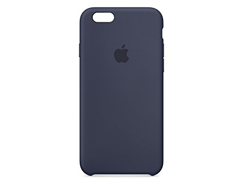 Apple Silikon Case (iPhone 6s) - Mitternachtsblau