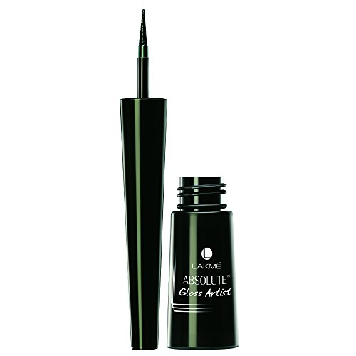 Lakme Absolute Gloss Artist Eye Liner, Black, 2.5 ml