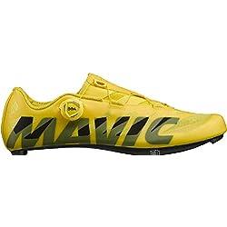 Mavic - Zapatillas de Ciclismo de Sintético para Hombre Amarillo Amarillo Amarillo Size: 44 EU