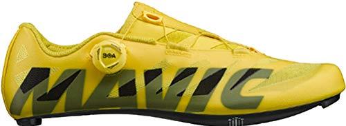 Mavic - Zapatillas de Ciclismo de Sintético para Hombre Amarillo Amarillo Amarillo Size: 45 EU