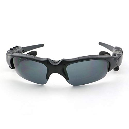 erhuo Stereo Bluetooth Polarized Brille Reiten Outdoor Brille Sun Sportbrillen, Schwarz Oakley Bluetooth Sunglasses