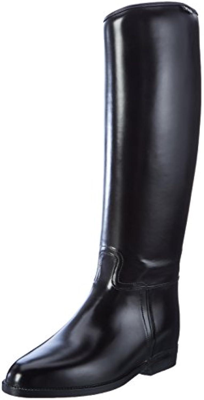 Hkm – Botas de equitación para estándar con elástico, todo el año, mujer, color negro, tamaño 40 EU