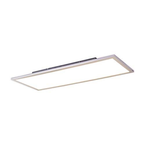 Lampenwelt LED Panel 'Liv' (Modern) in Weiß u.a. für Küche (1 flammig, A+, inkl. Leuchtmittel) | Bürolampe, Deckenlampe, Deckenleuchte, Lampe, Küchenleuchte
