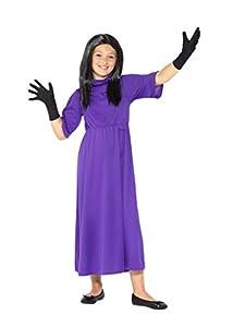 Smiffys 41536l producto oficial de Roald Dahl-Las brujas disfraz, morado, L-UK 10-12años de edad