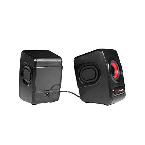 Mars Gaming MRS0 - Altavoces Gaming para PC (10W, 6 Drivers de...