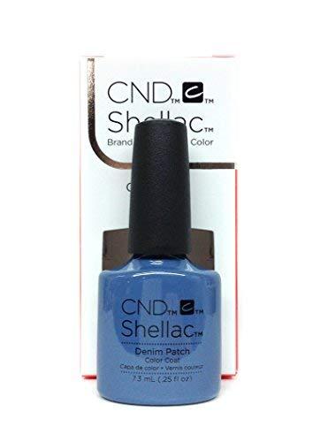CND Shellac, Gel manicura pedicura Tono Denim Patch