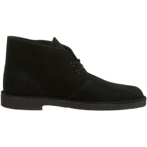 Clarks Originals Desert Boot, Polacchine Uomo Nero (Black)