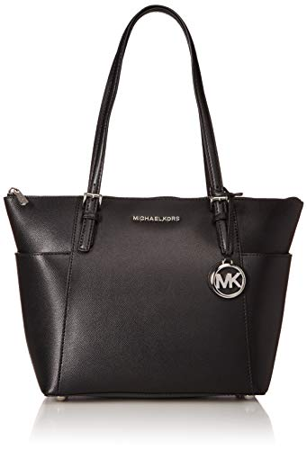 Michael Kors Damen Jet Set Item Tote, Schwarz (Black), 8.9x22.9x35.6 Centimeters