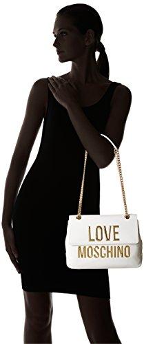 Love Moschino JC4282PP03KK Sac À Bandoulière Femme Blanc (White)