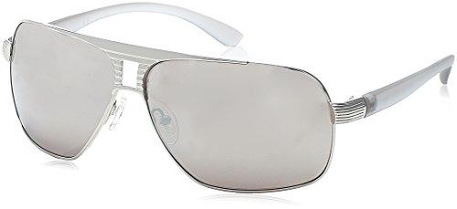 Guess Herren GU6512 Sonnenbrille, Grau (Grigio Scuro), 66