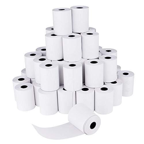SHiZAK 48 rollos papel térmico sin BPA