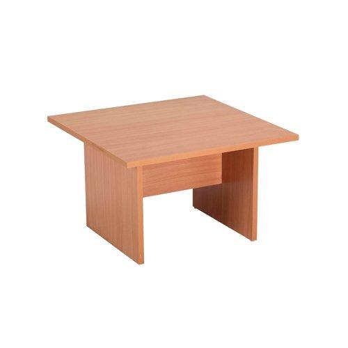 Jemini-Table basse carrée en bois de hêtre