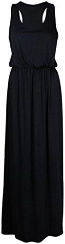 Fashion Essentials-Frauen Toga Ballon Puball schulterfrei lange Weste Maxi-Kleid Coral