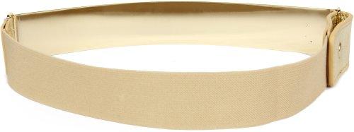 di con Oro fibbia dorata fibbia da donna Cintura banda x con 30 elastica Oro metallo per in la o fascia Calonice cm 5 Taglia argentata Amorino viata Unica CxFzxYwq