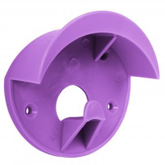 Trensenhalter, Kunststoff lila