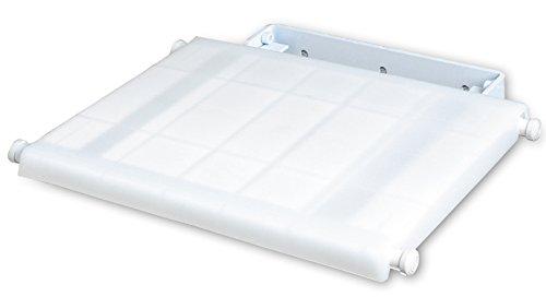 Siège escamotable pour douche en Polypropylène, 35 x 41 x 41 cm -PEGANE-