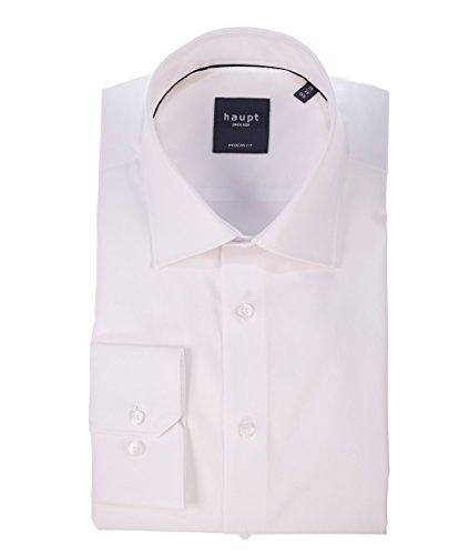 Michaelax-Fashion-Trade - Chemise business - Uni - Col Chemise Classique - Manches Longues - Homme Blanc - blanc