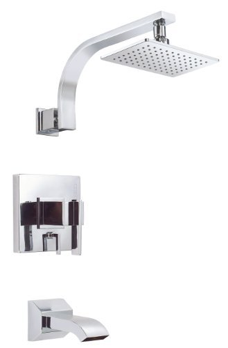 Danze D510044T Sirius Single Handle Tub and Shower Trim Kit, Chrome by Danze - Handle Tub Trim Kit