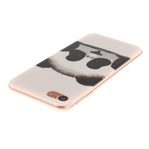 AIXIN Coque iPhone 7, Ubegood iPhone 7 bumper Case [Absorption de Choc] Coque arriere transparente Bumper en TPU Coque pour iPhone 7 Design 14
