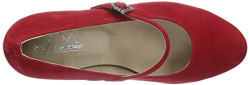 Andrea Conti Hirschkogel by 3009221021 Damen Pumps Rot (rot 021)