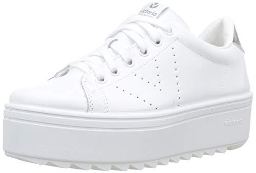 Victoria Sierra Deportivo Piel, Zapatillas Unisex Adulto, (Blanco 20), 40 EU