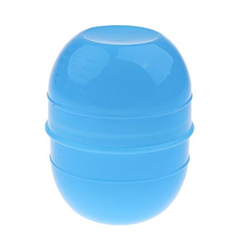 Bol Pour Coloration Cheveux Teinture Décolorante Coiffure Couleur pour Salon Coiffeur/Maison - Bleu ciel