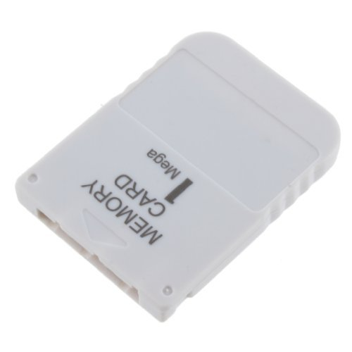 SODIAL(R) Blanco - 1MB Tarjeta de Memoria Stick para Playstation 1 Un Juego PS1 PSX