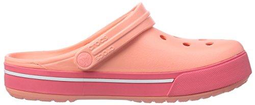 d0e9bc35a5 ... Crocs Crocband II.5 Unisex - Erwachsene Clogs Pink (Melon Coral)