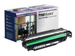 PrintMaster Black Toner Cartridge for HP Laserjet Enterprise 500 Color M551 Series, MFP M570dn/-M575c, Canon LBP-7780 7780 Serie