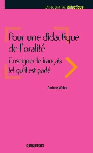 Livres gratuits Pour une didactique de l'oralité (Langues et didactique) epub pdf