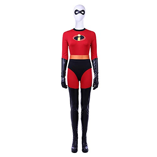 Superman Rot Unterwäsche Kostüm - QWEASZER clothing Superfrau 1: 1 Kostüm Deluxe Edition Lady Superman Superheld Cosplay Kleidung Kostüm Body Overalls Film Kleidung Requisiten Anpassbare Größe,Red-XL